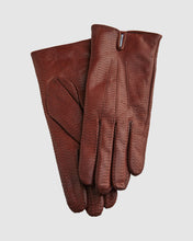 Load image into Gallery viewer, Cognac Zella Leather Gloves