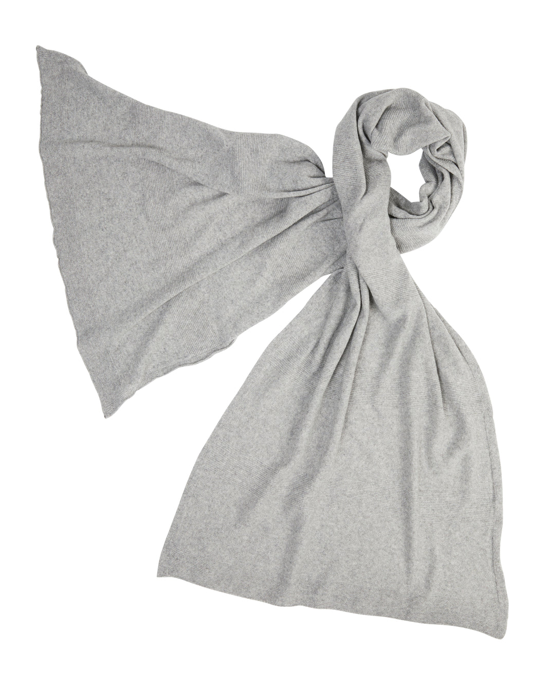 kate and confusion grey cashmere scarf shawl