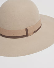 Load image into Gallery viewer, Kate and Confusion beige wool ladies felt floppy hat