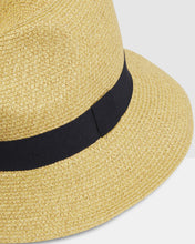 Charger l'image dans la galerie, Kate and Confusion Summer Straw Ladies Trilby Fedora Hat