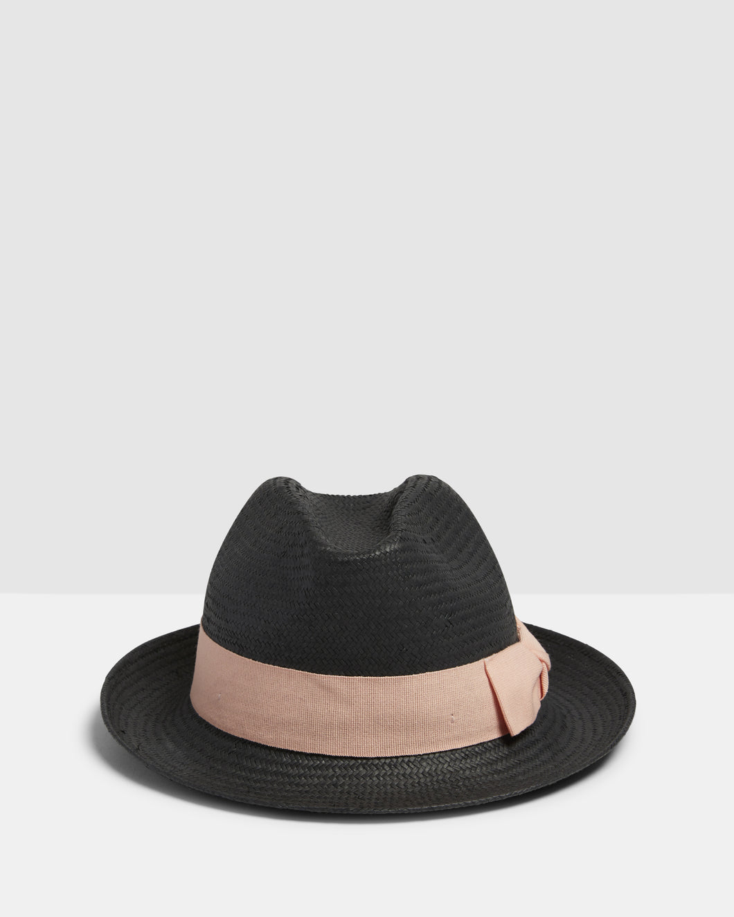 Kate and Confusion black summer ladies trilby fedora hat