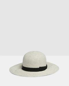 Kate and Confusion Summer Ladies white beach floppy hat
