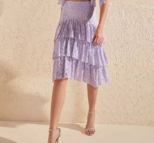 Tiere Lace Skirt