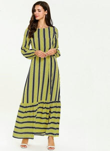 Maxi Multi Stripe Dress