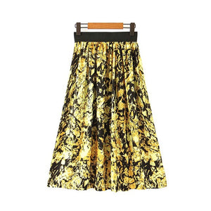 Gold Flake Skirt