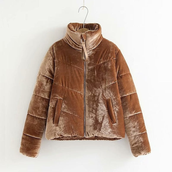 Velour Teddy Coat