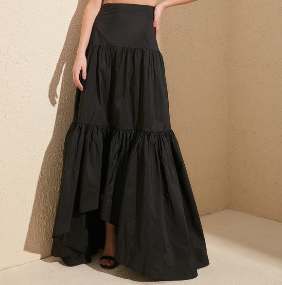 Tiered Gown Skirt