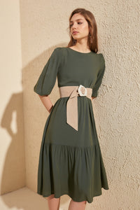 Tiered Hem Dress