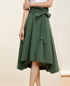 Bow Sash Skirt