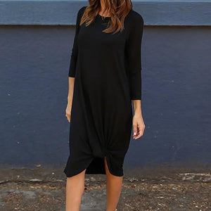 Loose Knot Dress