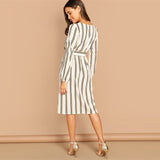 Stripe Bow Dress