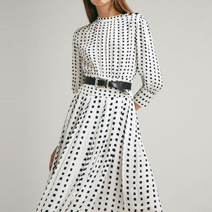 French Dot Dress
