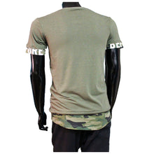 Afbeelding in Gallery-weergave laden, Tshirt camouflage khaki Groen before you