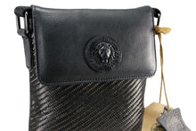 Afbeelding in Gallery-weergave laden, FERETI® MINI CARBON FIBER EN LEDER MESSENGER