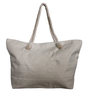Shopper met watermeloen print