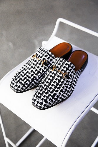 Houndstooth Bloafers