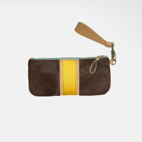 Vedanta Series ~ Clutch in Chocolate
