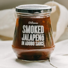 Load image into Gallery viewer, Smoked Jalapeno in Adobo Sauce 380g