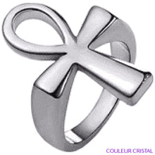 Charger l'image dans la galerie, Bague Ankh - 7 / Stainless Steel