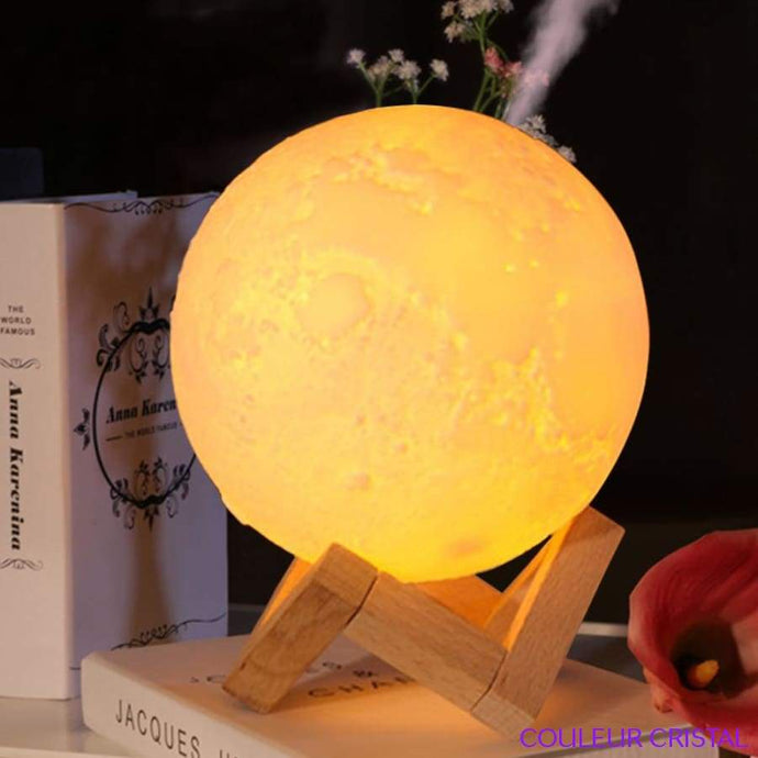 Lampe Moonlight humidificateur dair