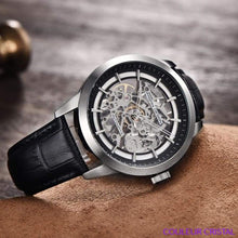 Charger l'image dans la galerie, PAGANI DESIGN Watches Mens Luxury - Montre Mécanique Etanche Bracelet Cuir