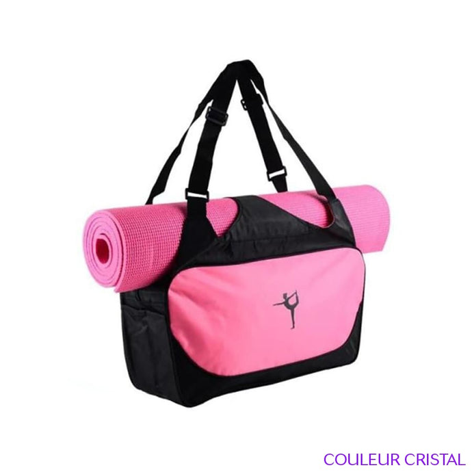 SAC A TAPIS DE YOGA - Rose