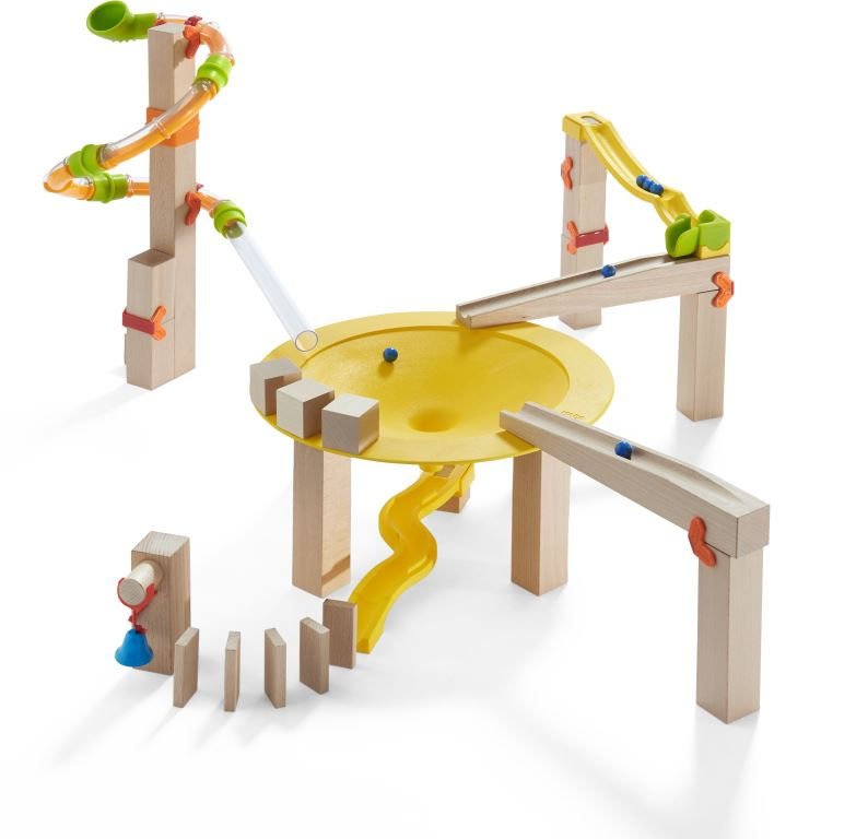Ball Track (Marble Run) Basic Pack Funnel Jungle Starter Set
