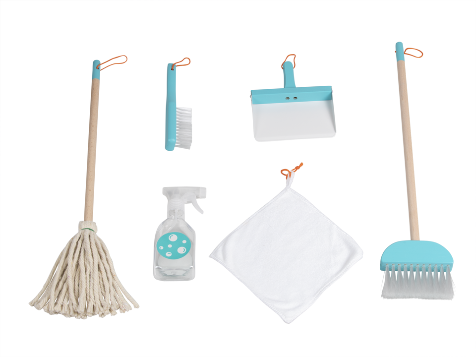Kids Cleaning Set - Aqua