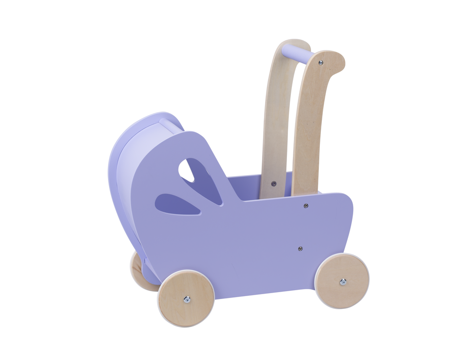Dolls Stroller (Pram) - Light Purple