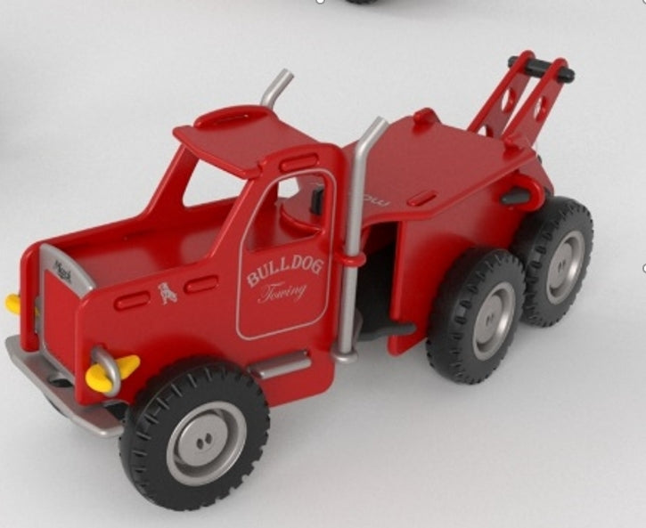 Mack Ride-On Truck - Red
