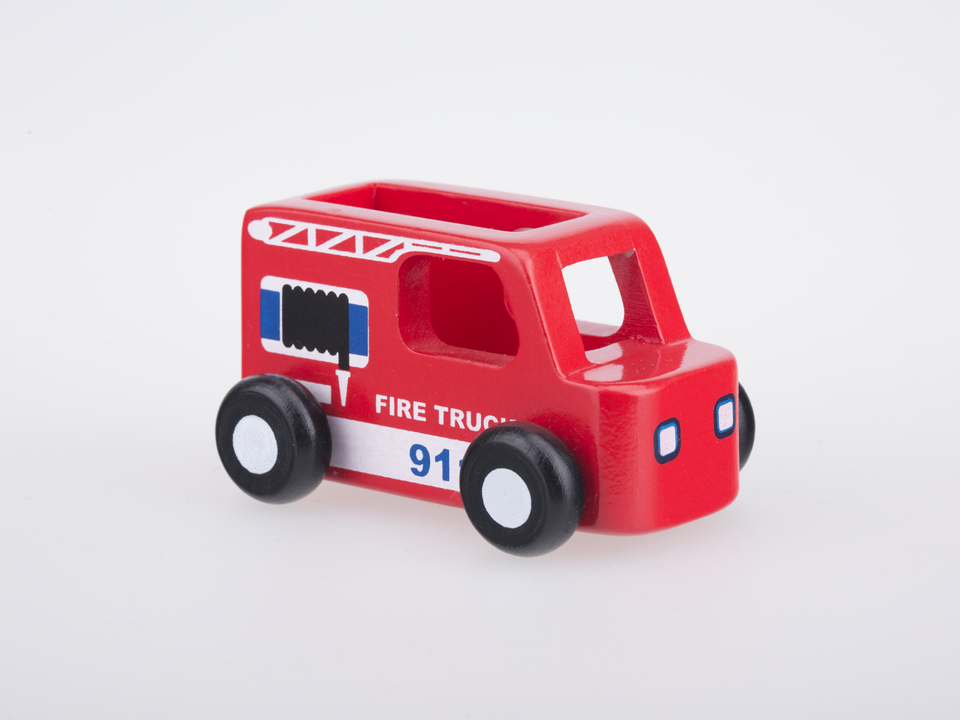 Mini Fire Truck - Red