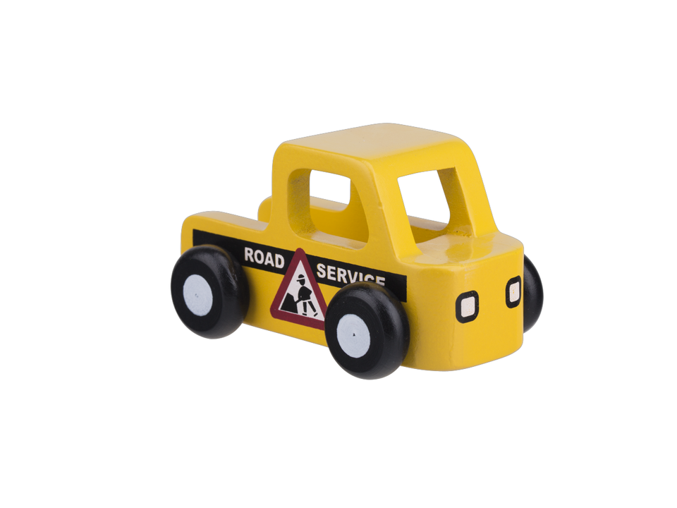 Mini Road Service Car - Yellow