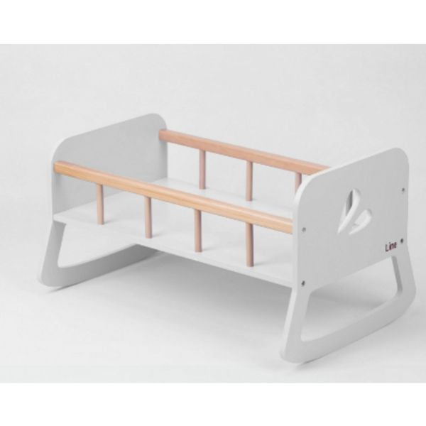 Dolls Cradle - White