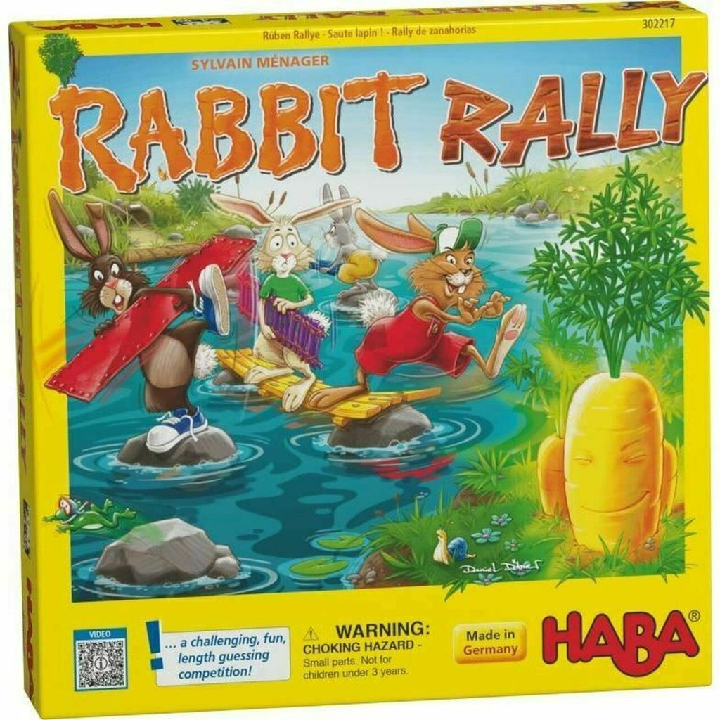 Rabbit-Rally  Age: 4-6 Years