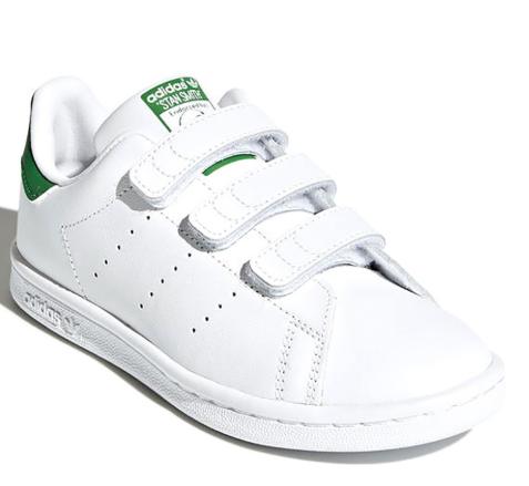 "Adidas Sneaker Originals ""Stan Smith"" Klettverschluss Grün Junior"