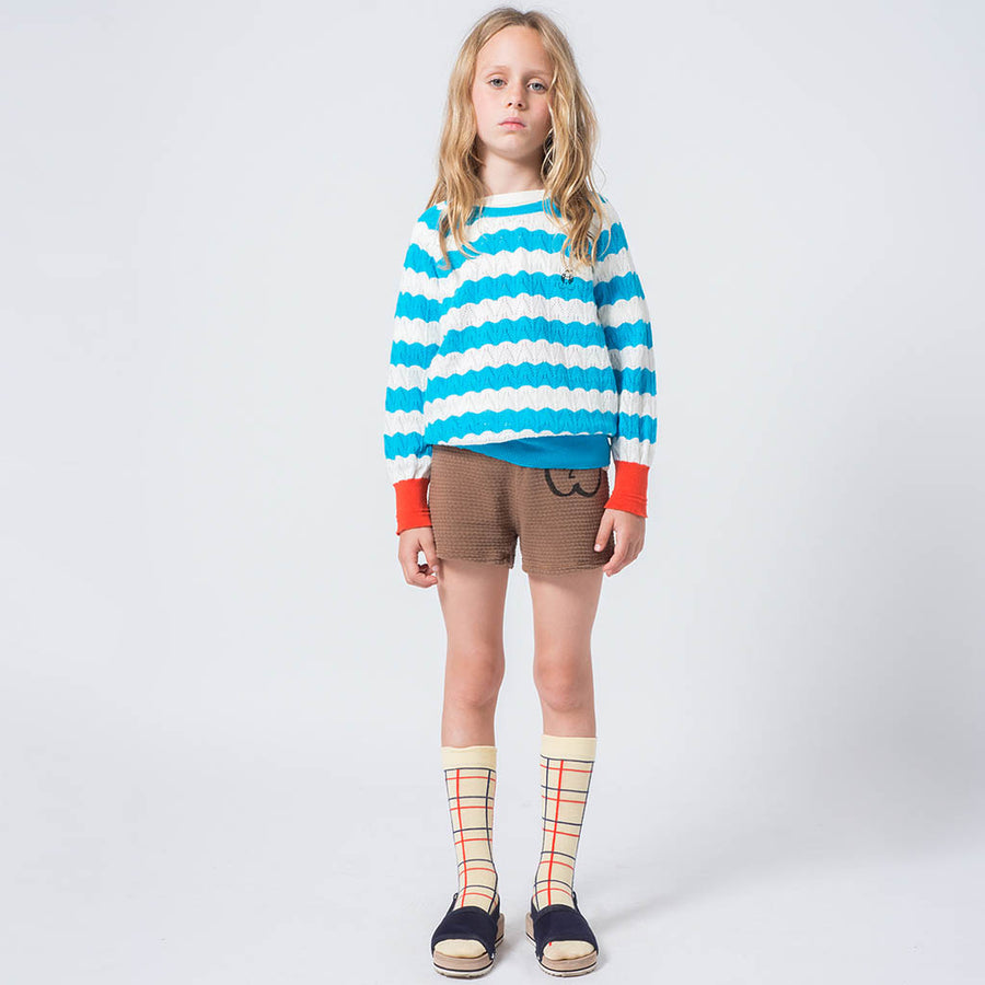 Bobo Choses Shorts Apfel Braun