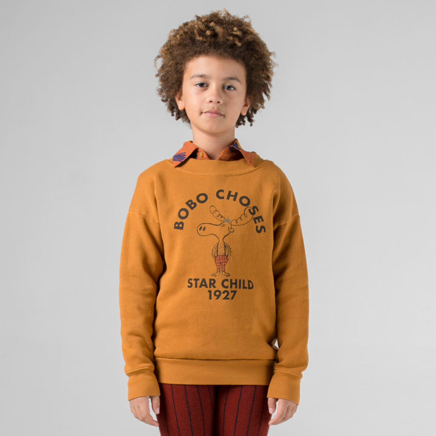 Bobo Choses Sweatshirt Elch