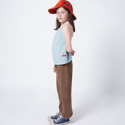 Bobo Choses Top Kirsche Ashley Blau