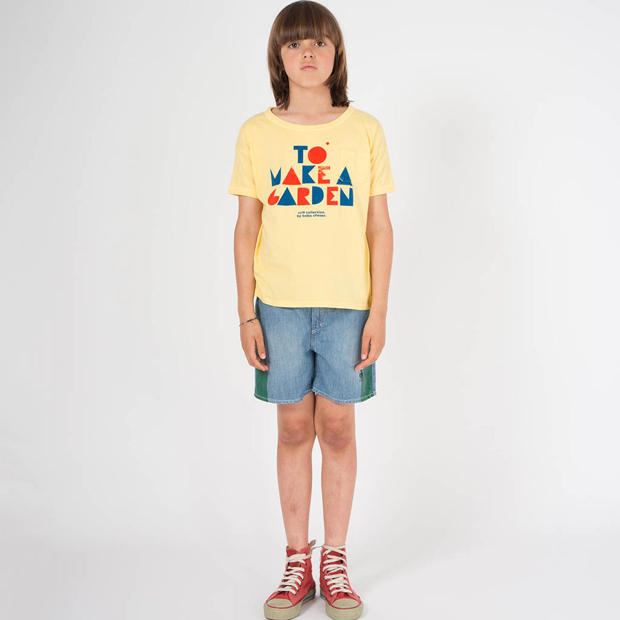 Bobo Choses T-Shirt Geo Mellow Gelb