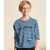 Kids on the moon Langarmshirt Story Blau