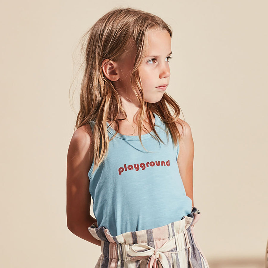 Kids on the moon Tanktop Playground Blau