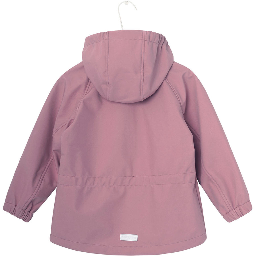Mini a Ture Softshell-Jacke Aden Lilas Rose