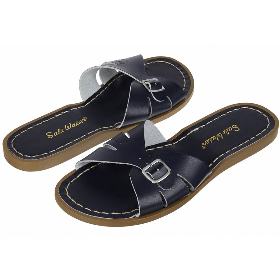 Salt-Water wasserfeste Frauen-Slipper Classic Navy Gr. 36-42