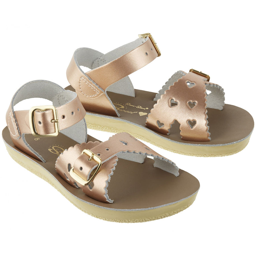 Salt-Water wasserfeste Kinder-Sandale Sweetheart Rose Gold Gr. 20-31