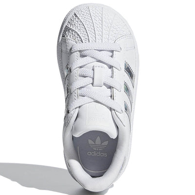 "Adidas Originals Sneaker ""Superstar EL I"" Weiß Mini"