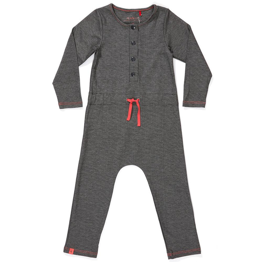 Albababy Jumpsuit Hekla Medium Grey