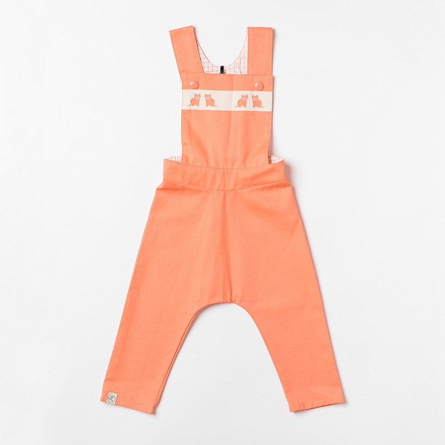 Albababy Latzhose Kim Baggy Fusion Coral