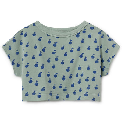 Bobo Choses Crop Shirt Apfel Grün