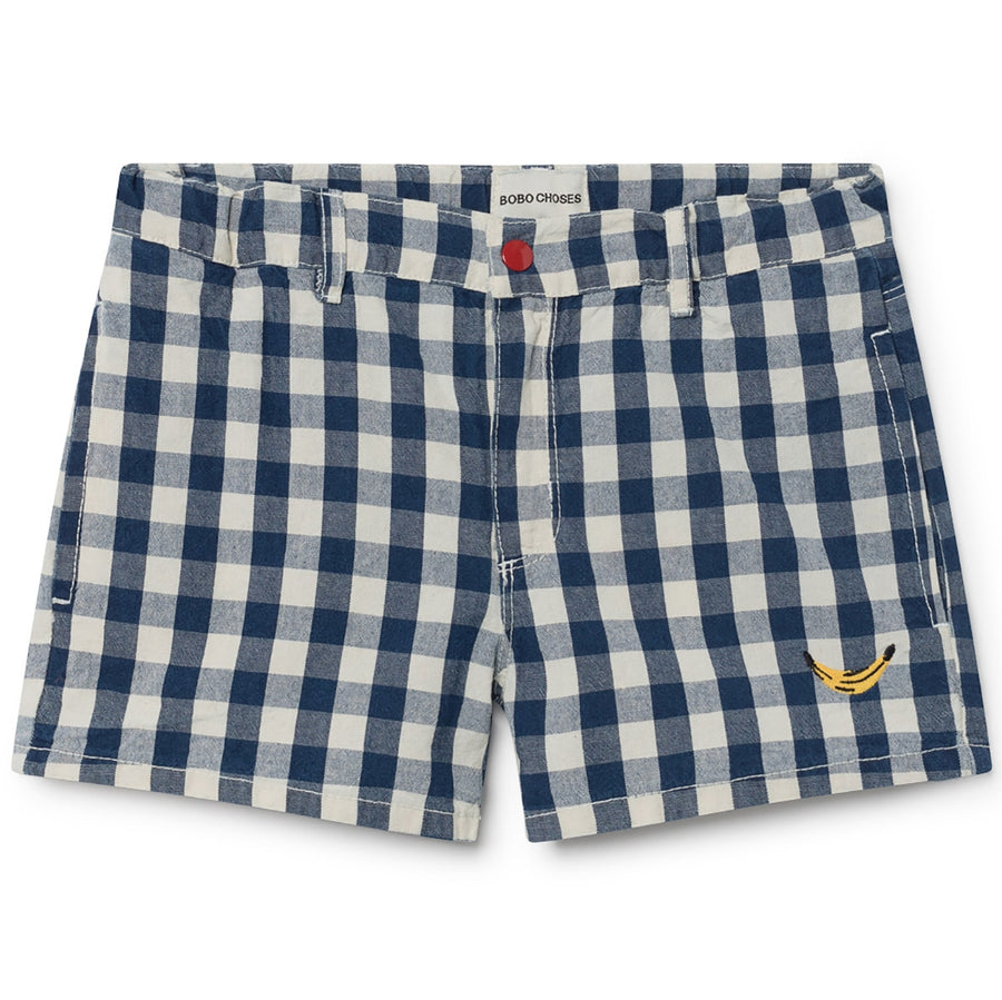 Bobo Choses Tennis-Shorts Banane Blau