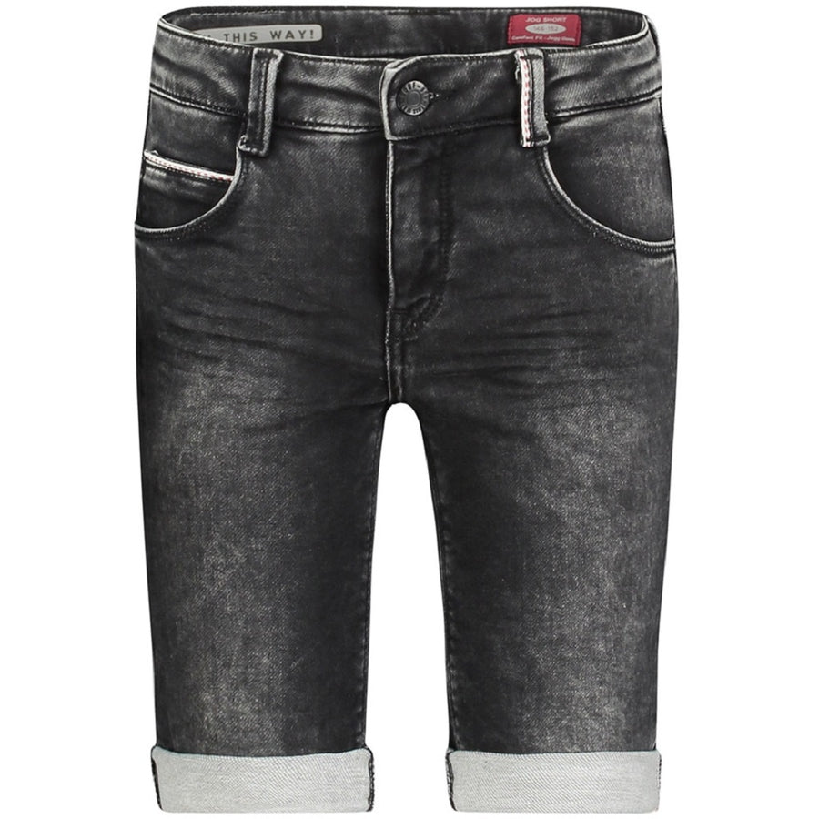 Boof Jeans-Shorts Flash Schwarz